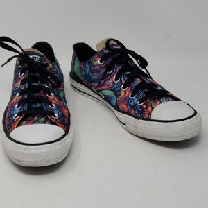 Converse All Star Oil Slick Sneakers size 9